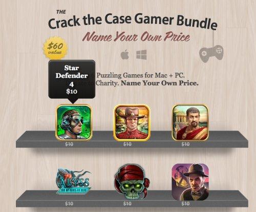[MAC & PC] Crack the Case Gamer Bundle zum selbst bestimmen Preis mit bis zu 6 Spielen