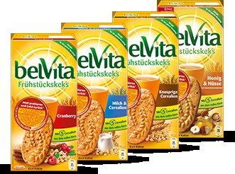 BelVita Frühstückskekse + Frühstückstasse