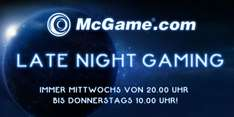 Ab 20 Uhr: Late Night Gaming @ McGame.com