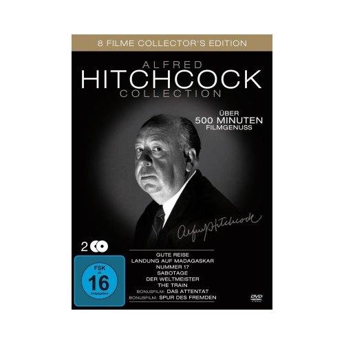 Alfred Hitchcock Collection (8 Filme ) [2 DVDs] für 6,99 € [Rossmann] Offline