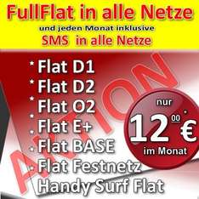 Vodafone Tarif für effektiv 12€ als All-Net-Flat inkl. 3000 SMS