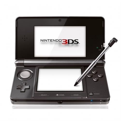 Nintendo 3DS Konsole Kosmos Schwarz