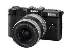 Pentax Q Systemkamera (12 Megapixel, 7,5 cm (3 Zoll) Display, Full HD Video, bildstabilisiert) schwarz + 5-15-mm-Objektiv für ca. 178 € [Amazon.uk]