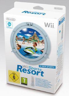 Wii Sports Resort inkl. neuem Remote Plus Controller (weiß) ab 20,90 für Neukunden