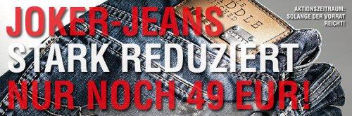 Joker Jeans Aktion 49,- incl. Portokosten