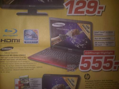 Samsung Notebook NP-R780-JTBRDE