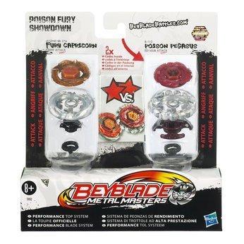 Hasbro Beyblade Metal Masters Poison Fury Showdown 2-Pack für 11,50€ @Amazon Marketplace