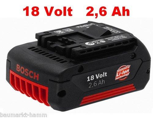 BOSCH Professional (BLAU) Original Ersatz Akkus 10,8 / 14,4 / 18 Volt 22% Ersparnis!