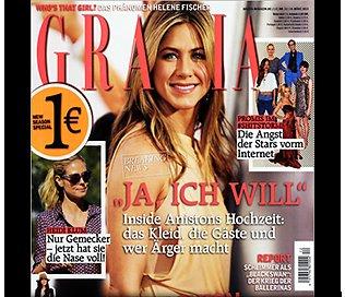 6 Monate Grazia und 12 Monate Interview Gratis[Kein Abo]
