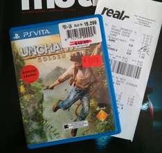 [LOKAL real Bremerhaven ] Uncharted Golden Abyss für PS Vita