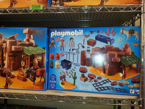 [lokal Rossmann UNNA] noch besserer Deal  Playmobil Goldmine mit Sprengkiste (5246) 20,90€ statt IDEALO 37,96€ zzgl Versand