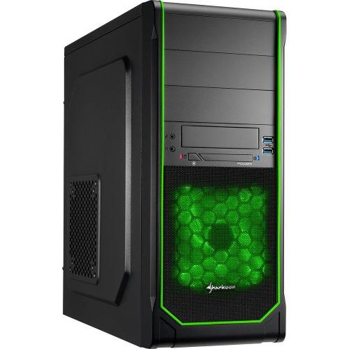 Superpunkte catchen und Sharkoon PC-Gehäuse VS3-V green für 22,90€ (ich fang gleich an zu lachen) inkl. VSK @rakuten