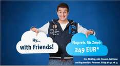 Fly with Friends! InterSky Fixpreis 249 EUR in Europa