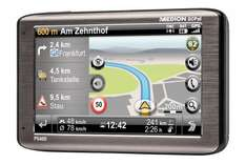 MEDION P5460 Navigation (B-Ware) für 89€ (ehem. Bestpreis: 140€)