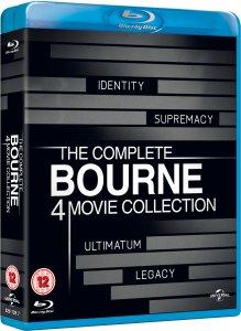 (UK) The Complete Bourne Movie Collection [4 x Blu-ray] für 16.20€ @Zavvi