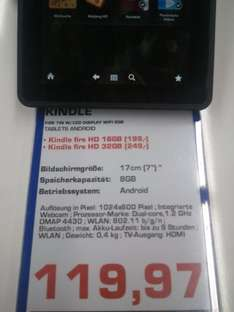Amazon Kindle Fire (Saturn MyZeil)