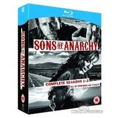 (UK) Sons of Anarchy - Seasons 1-3 [12 x Blu-ray] für ca. 24.34€ @ TheHut