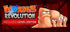 Worms Revolution für 3,49€ @ Steam (4er Pack für 10,49€)