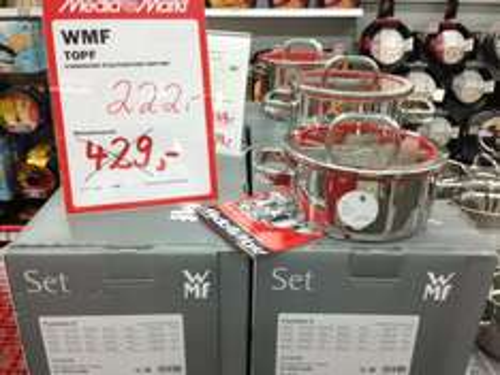 [Media Markt - Ruhr Park ] WMF Kochgeschirr-Set 4-teilig Function 4 - Premium 5*