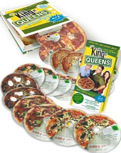 Amazon The King of Queens - Die komplette Serie in der Pizzaschachtel [BluRay] für 86,97€