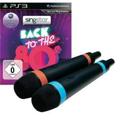 [CONRAD] SingStar® Back To The ´80s inkl. 2 kabellose Mikrofone für Playstation 3 für 19,95€