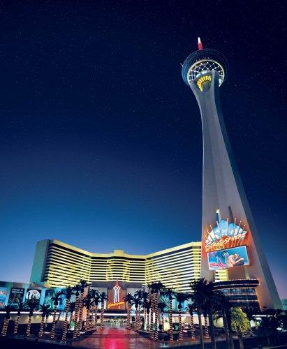 Las Vegas -  Stratosphere Hotel - Casino & Resort inkl. Unbegr. Eintritt für den Tower für nur 15€ pro Nacht im DZ (August - November) - pro Person: 7,50€