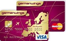 Germanwings Kreditkarte inkl. 66€ Gutschein + 2.500 Meilen KOSTENLOS