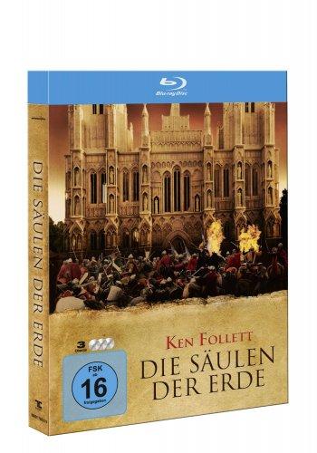 Die Säulen der Erde (3-Disc Steelbook) [Blu-ray] für 13,97 € [Amazon.de]