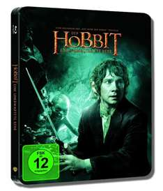 Der Hobbit Blu-Ray Steelbook für 19,97€ @ amazon.de