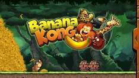 Banana Kong (iOS) kostenlos - Endless Scroller