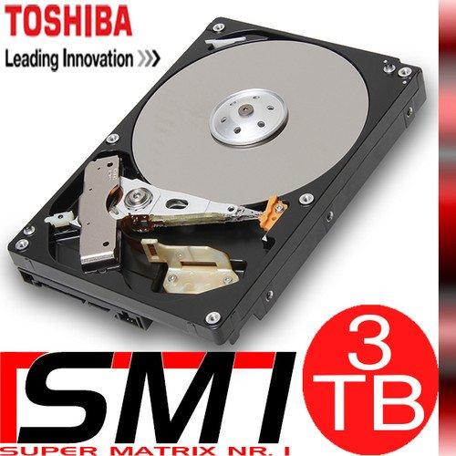 """Toshiba 3TB 3,5"""" interne Festplatte 7200 RPM für 90€ @Ebay"""