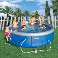 Bestway Fast Set Quick Up Pool 457x122 cm Schwimmbecken bei ORPC24