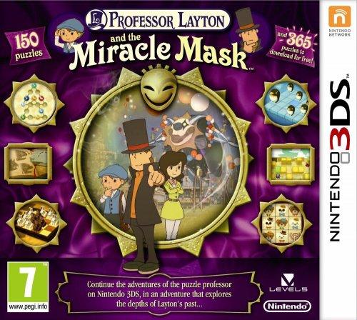 Professor Layton und die Maske der Wunder[3DS] für 24€ @Amazon.uk