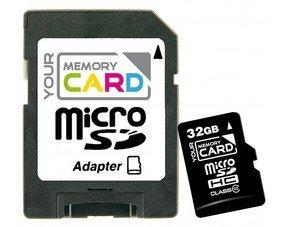YourMemoryCard 32GB microSDHC Class 10 Speicherkarte + Adapter für 17,95 €  @MeinPaket.de (3EURO Gutschein)