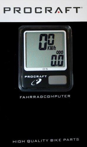 Procraft Fahrradcomputer PI 05 mit 5 Funktionen @ kurbelix / 1,99 € + 3,50 € Versand