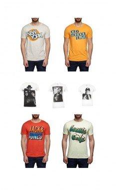 2 Jack & Jones Tshirts verschiedene Motive inkl Versand für 15,90€