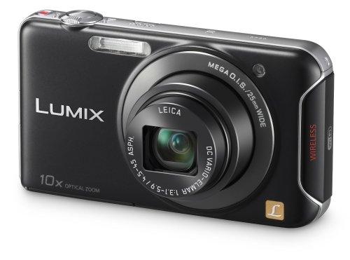 """Panasonic Lumix DMC-SZ5 mit 10x Zoom, 14,1 MP, 3"""" LCD, WiFi in schwarz oder weiss für 100,04 € @Amazon.co.uk"""