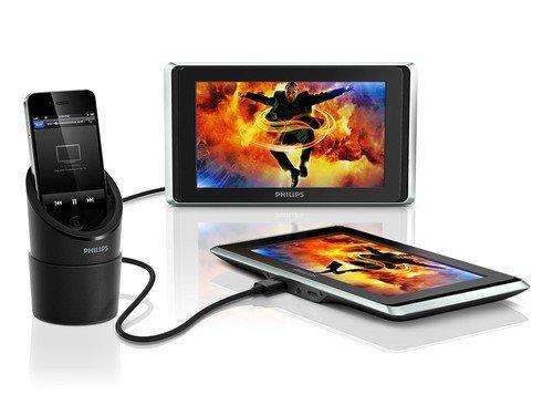 PHILIPS PV9002I - Breitbild-Displays für iPad/iPhone (2 Stück) für 99€ @Ebay Gravis