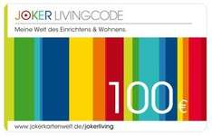6% auf Jokerlivingcode (dm,zalando, obi, toom, tchibo, butlers,...)