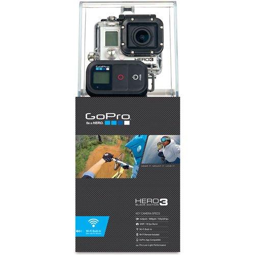 GoPro Hero 3 Black aus UK für 339 EUR