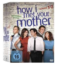 How I Met Your Mother Box Staffel 1-7 für 59,97 € @Amazon.de
