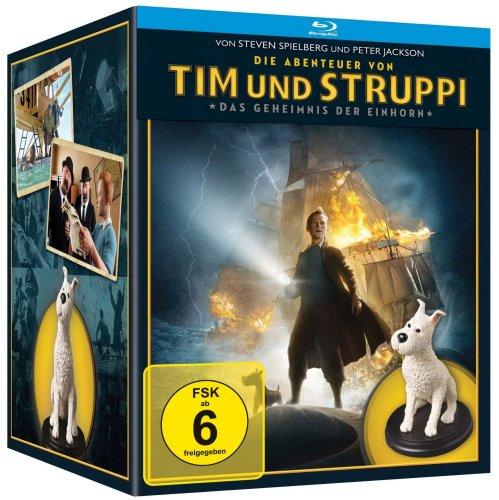Die Abenteuer von Tim & Struppi - Das Geheimnis der Einhorn (Limited Fine Art Collectible Boxset, Steel-Book, Blu-Ray)