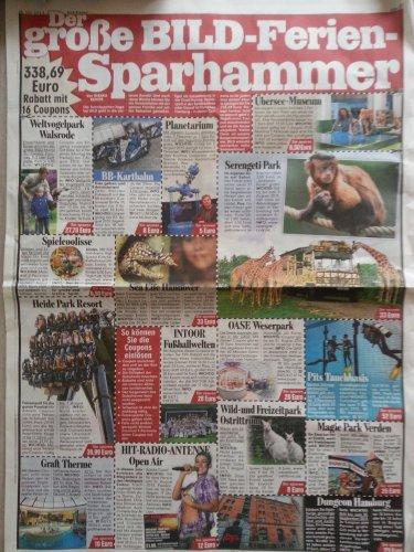 Gutscheine in Bild Zeitung: Heide Park, Vogelpark Walsrode, Serengeti Park, Dungeon Hamburg, BB Kart etc .... [NDS] nur heute!