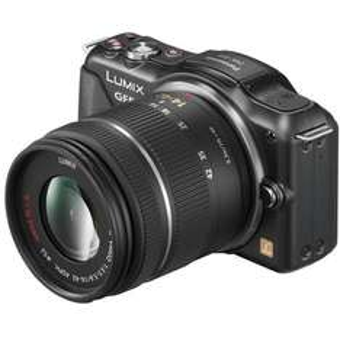 Panasonic Lumix DMC-GF5 inkl. 14-42 mm (schwarz)