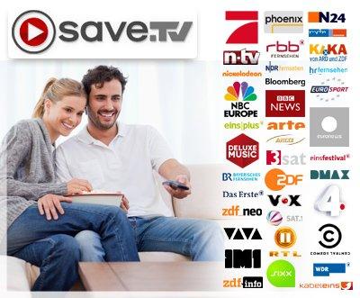 Fernsehen mit dem größten Online-Videorecorder der Welt