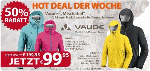 Vaude MISCHABEL Jacke für 99,95€ bei McTREK