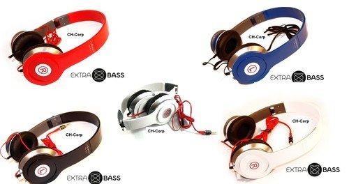 REDUZIERT! Stylische Kopfhörer für Handys u. Mp3 Player | 3,5mm klinke | Headset | Faltbar