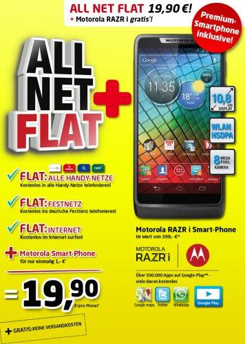 Motorola Razr i mit ALL NET FLAT