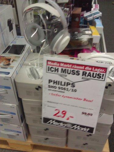 """Philips SHO 9561 """"The Stretch"""" Kopfhörer für 29€ [lokal MM Kiel CITTI-Park]"""