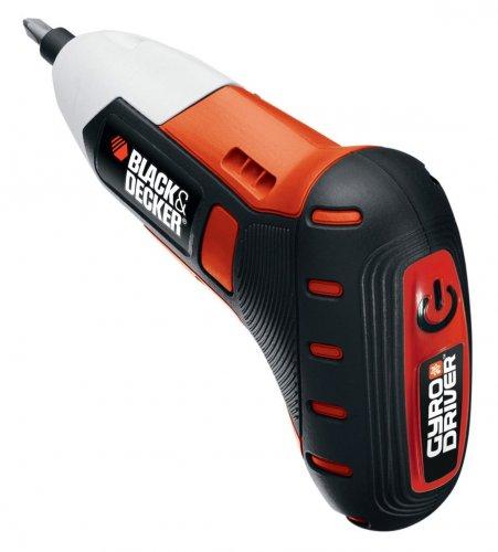 Black & Decker Akku-Schrauber GyroDriver 3,6V inkl. 10tlg. Zubehör für 30€ @Voelkner